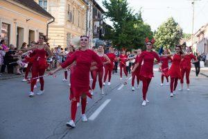 Zagrebačke mažoretkinje na Belocrkvanskom karnevalu
