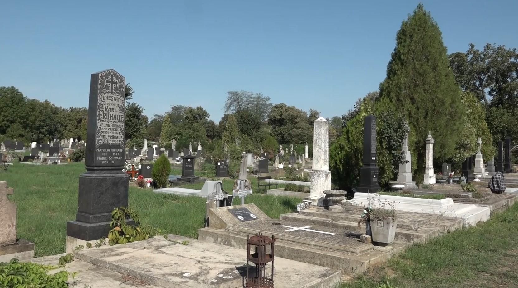 Katolicko groblje Bela Crkva