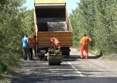 Asfaltiranje udarnih rupa na opštinskim putevima i ulicama (VIDEO)