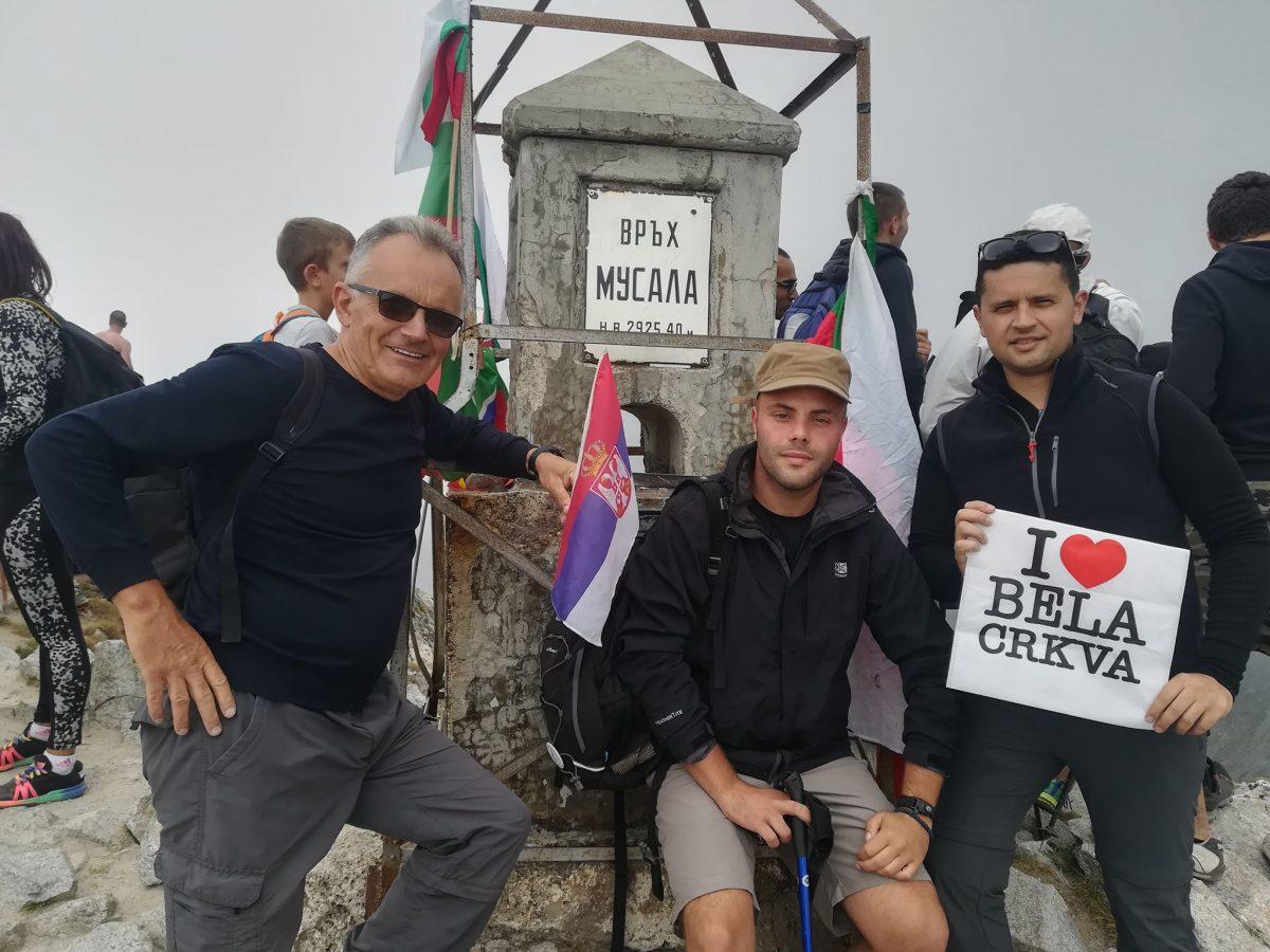 Planinarsko Drustvo Karpati vrh Musala