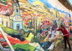 Novi mural u Beloj Crkvi (VIDEO)