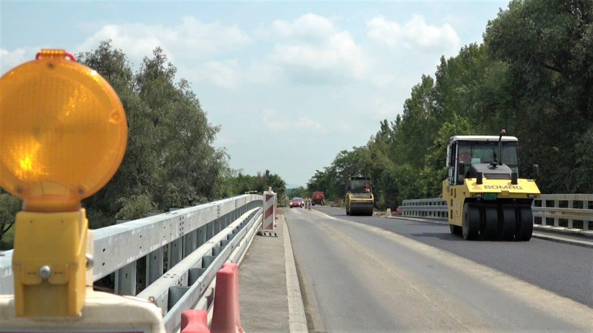 radovi na mostu kod Straze