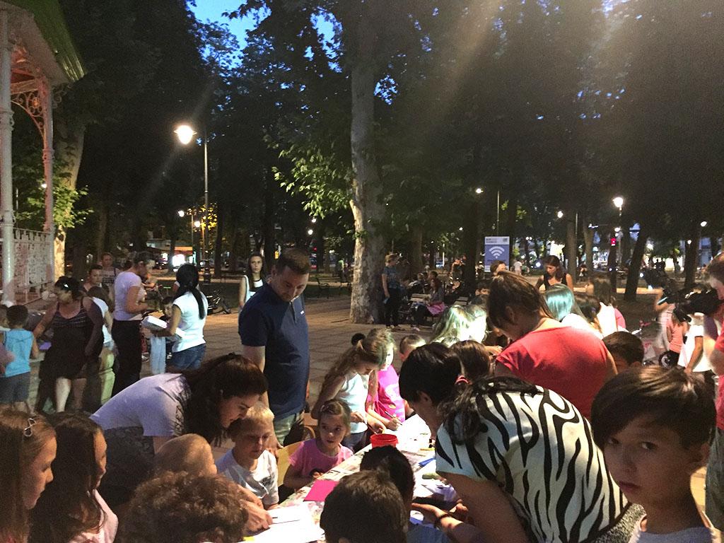 Kreativni četvrtak u Gradskom parku 2