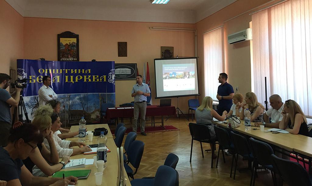Radionica o razmeni znanja u turizmu u Beloj Crkvi